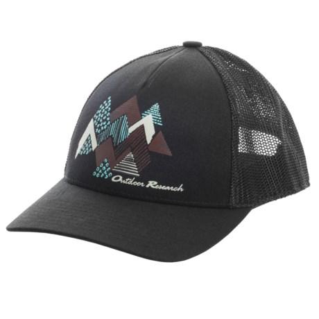 Outdoor Research Acres Trucker Hat (For Women) in Black