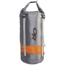 Outdoor Research AirPurge Dry Compression Sack - 15L in Dark Grey - Closeouts