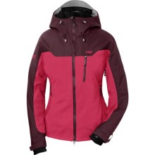 Outdoor Research Alibi Jacket - Soft Shell (For Women) in Trillium/Zin - Closeouts