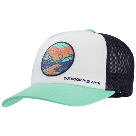 664942bf37b7c Outdoor Research Alpenglow Trucker Hat (For Women) in Tahiti - Closeouts