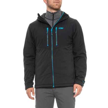 Outdoor Research Alpenice Polartec® Alpha® Hooded Jacket - Insulated (For Men) in Black - Closeouts