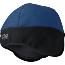 Outdoor Research Alpine Hat - Windstopper® Fleece (For Men and Women) in Abyss/Black - Closeouts