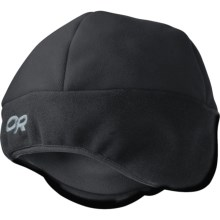 Outdoor Research Alpine Hat - Windstopper® Fleece (For Men and Women) in Black - Closeouts