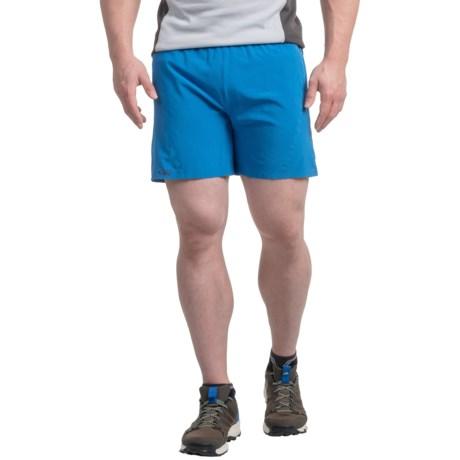 Outdoor Research Amplitude Shorts - UPF 50+, Built-In Briefs (For Men) in Glacier/Baltic