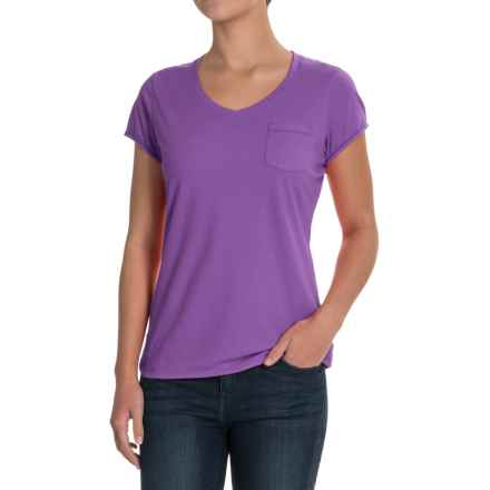 Outdoor Research Annalise T-Shirt - Organic Cotton, Short Sleeve (For Women) in Fig - Closeouts