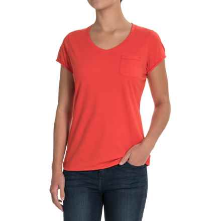 Outdoor Research Annalise T-Shirt - Organic Cotton, Short Sleeve (For Women) in Flame - Closeouts