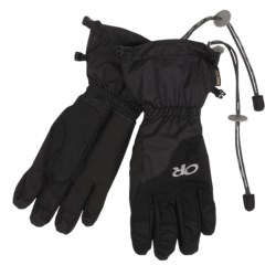 Outdoor Research Arete Gore-Tex® Insulated Gloves - Waterproof (For Men) in Black