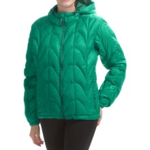 Outdoor Research Aria Down Hooded Jacket - 650 Fill Power (For Women) in Aquarium - Closeouts