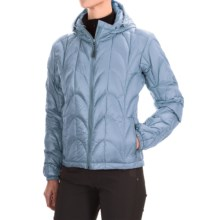 Outdoor Research Aria Down Hooded Jacket - 650 Fill Power (For Women) in Atmosphere - Closeouts