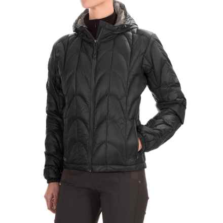 Outdoor Research Aria Down Hooded Jacket - 650 Fill Power (For Women) in Black - Closeouts