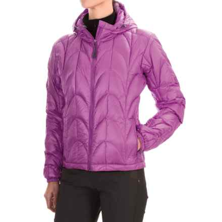 Outdoor Research Aria Down Hooded Jacket - 650 Fill Power (For Women) in Crocus - Closeouts