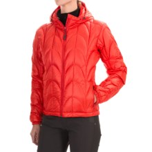 Outdoor Research Aria Down Hooded Jacket - 650 Fill Power (For Women) in Flame - Closeouts