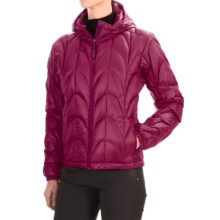 Outdoor Research Aria Down Hooded Jacket - 650 Fill Power (For Women) in Mulberry - Closeouts