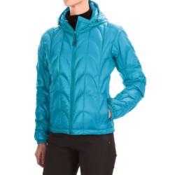 Outdoor Research Aria Down Hooded Jacket - 650 Fill Power (For Women) in Rio
