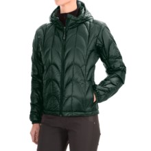 Outdoor Research Aria Down Hooded Jacket - 650 Fill Power (For Women) in Spruce - Closeouts