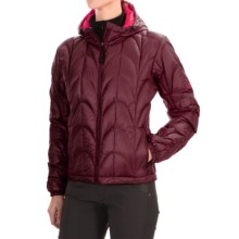 Outdoor Research Aria Down Hooded Jacket - 650 Fill Power (For Women) in Zin - Closeouts