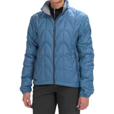 Outdoor Research Aria Down Jacket - 650 Fill Power (For Women) in Cornflower - Closeouts