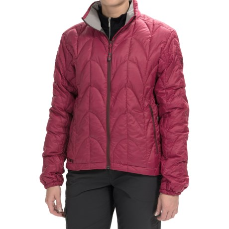 Outdoor Research Aria Down Jacket - 650 Fill Power (For Women) in Sangria
