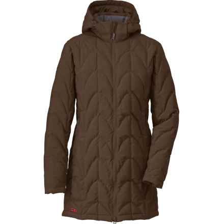 Outdoor Research Aria Storm Parka - 650 Fill Power (For Women) in Earth/Desert Sunrise - Closeouts