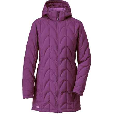 Outdoor Research Aria Storm Parka - 650 Fill Power (For Women) in Orchid/Crocus - Closeouts