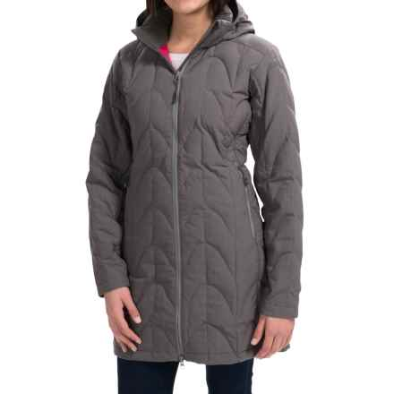 Outdoor Research Aria Storm Parka - 650 Fill Power (For Women) in Pewter - Closeouts