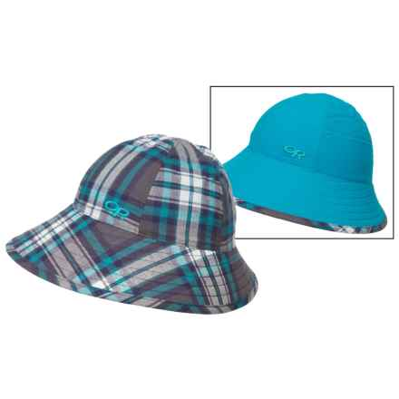 Outdoor Research Arroyo Reversible Bucket Hat - UPF 30 (For Women) in Alpine Lake - Closeouts