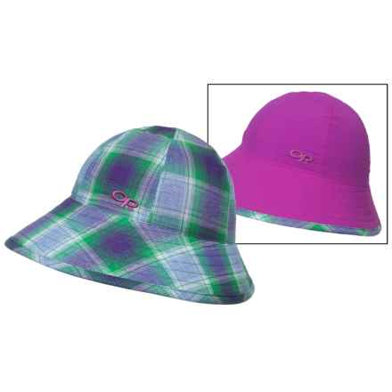Outdoor Research Arroyo Reversible Bucket Hat - UPF 30 (For Women) in Ultraviolet - Closeouts