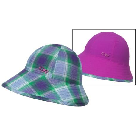 Outdoor Research Arroyo Reversible Bucket Hat - UPF 30 (For Women) in Ultraviolet