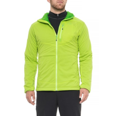 33f9d6f33b7e3 Outdoor Research Ascendant Hooded Jacket - Insulated (For Men) in  Lemongrass Flash -