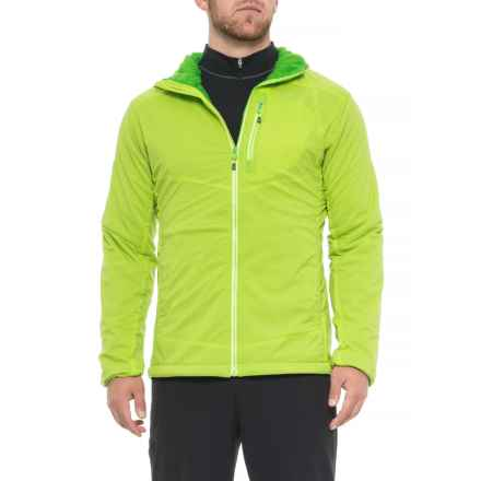 Outdoor Research Ascendant Hooded Jacket - Insulated (For Men) in Lemongrass/Flash - Closeouts