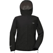 Outdoor Research Aspire Gore-Tex® PacLite® Jacket - Waterproof (For Women) in Black - Closeouts
