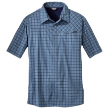 Outdoor Research Astroman Shirt - UPF 50+, Short Sleeve (For Men) in Dusk - Closeouts