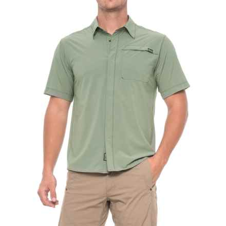 Outdoor Research Astroman Shirt - UPF 50+, Short Sleeve (For Men) in Sage Green - Closeouts