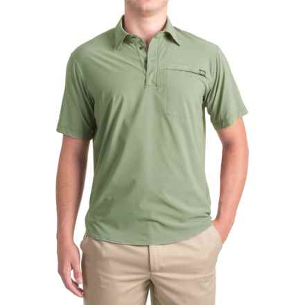 Outdoor Research Astroman Sun Polo Shirt - UPF 50+, Short Sleeve (For Men) in Sage Green - Closeouts