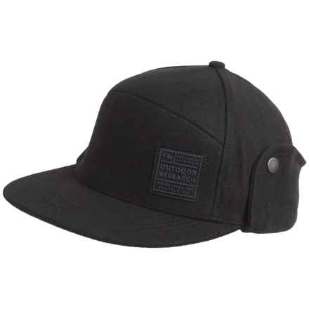 Outdoor Research Austin Cap - Ear Flaps (For Men) in Black - Closeouts