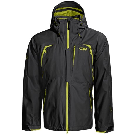 Outdoor Research Axcess Gore-Tex® Jacket - Waterproof, Insulated (For Men) in Black