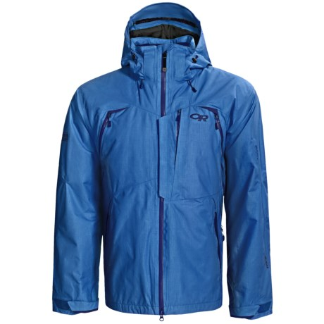 Outdoor Research Axcess Gore-Tex® Jacket - Waterproof, Insulated (For Men) in Glacier