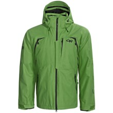 Outdoor Research Axcess Gore-Tex® Jacket - Waterproof, Insulated (For Men) in Leaf - Closeouts