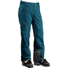 Outdoor Research Axcess Gore-Tex® Pants - Waterproof, Insulated (For Women) in Peacock - Closeouts