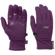 Outdoor Research BackStop Fleece Gloves - Windstopper® (For Women) in Orchid - Closeouts