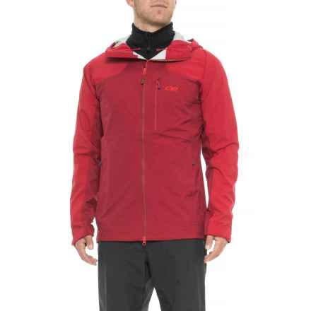 Outdoor Research Bolin Jacket - Waterproof (For Men) in Agate - Closeouts