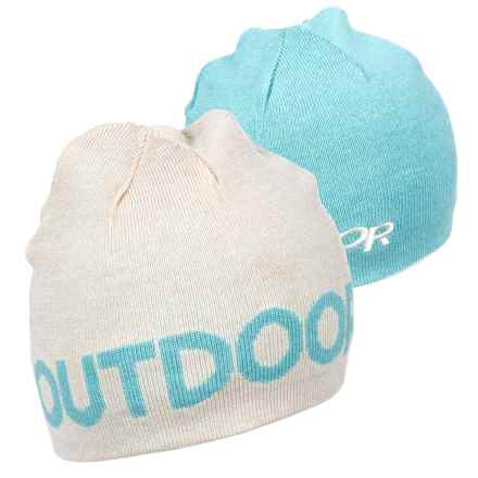 5a3cab880c3 Outdoor Research Booster Beanie - Reversible (For Men) in Warm White Ice -