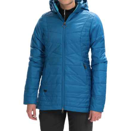 Outdoor Research Breva Parka - Insulated (For Women) in Cornflower/Rio - Closeouts