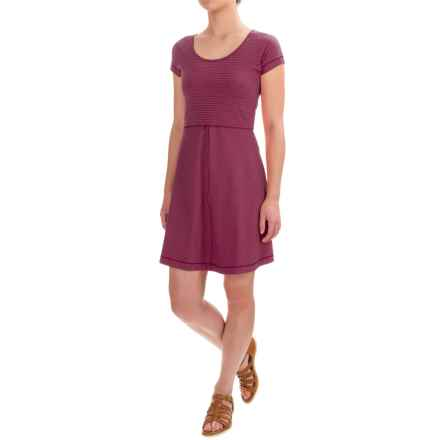 Outdoor Research Bryn Dress - Scoop Neck, Short Sleeve (For Women) in Pinot - Closeouts