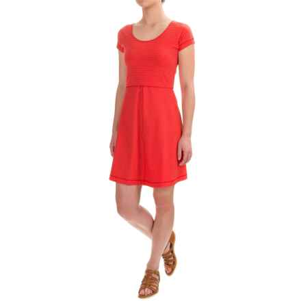 Outdoor Research Bryn Dress - Scoop Neck, Short Sleeve (For Women) in Scarlet - Closeouts