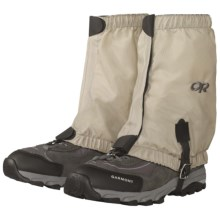 Outdoor Research Bugout Gaiters - Insect Shield® (For Men and Women) in Tan - Closeouts
