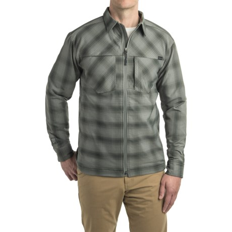 Outdoor Research Bullwheel Jacket - Insulated  (For Men) in Pewter/Black