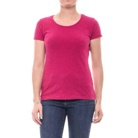 Outdoor Research Camila Basic T-Shirt - Organic Cotton, Short Sleeve (For Women) in Sangria - Closeouts