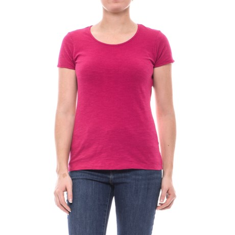 Outdoor Research Camila Basic T-Shirt - Organic Cotton, Short Sleeve (For Women) in Sangria