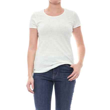 Outdoor Research Camila Basic T-Shirt - Organic Cotton, Short Sleeve (For Women) in White - Closeouts